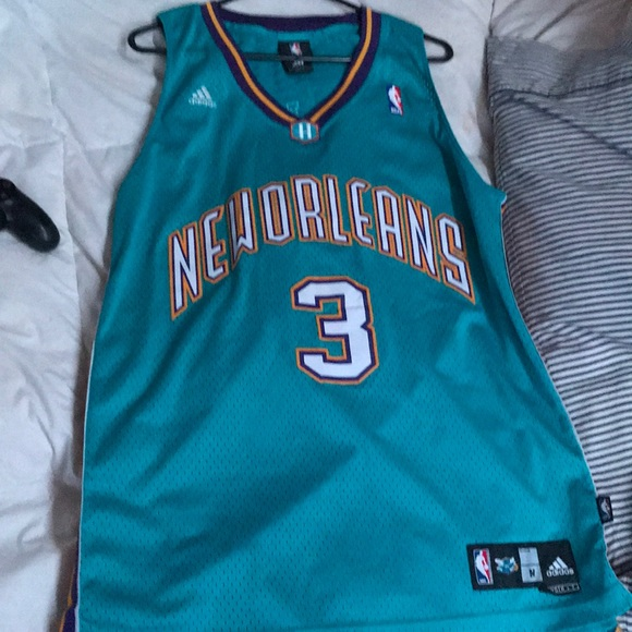 new styles 51dac 8c44e Chris Paul Throwback Hornets Jersey